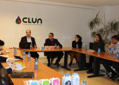 Visita del equipo MASCOMEX a las instalaciones de CLUN con su Director de Exportación Francisco Suárez