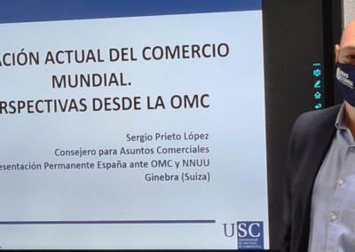 Sergio Prieto durante su exposición