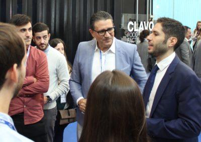 Nuestro alumno Joaquín Guerrero de la promoción 2012-2013 contándoles sus experiencias como comercial del sector a nuestros alumnos