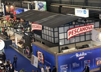 Stand de PESCANOVA en el Feria de Conxemar