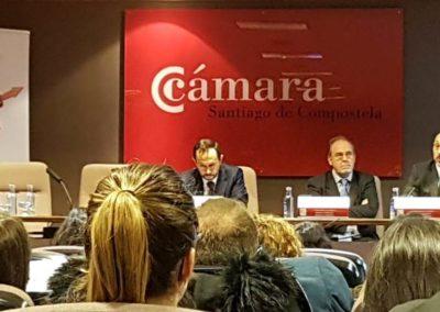 Jornada Cámara de Comercio Santiago de Compostela