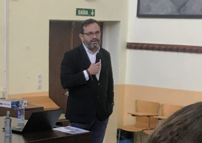 """Ignacio González Hernández, CEO en NUEVA PESCANOVA y Presidente de ECOEMBES, durante la conferencia """"Nueva Pescanova: Una start-up de 1.000 millones"""""""