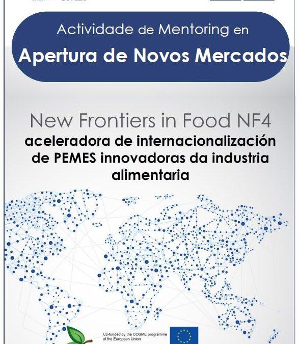 Mentoring en apertura de nuevos mercados para empresas gallegas de alimentación